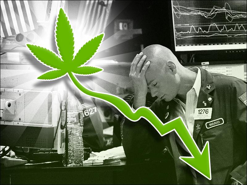 Vent de panique sur les entreprises du cannabis