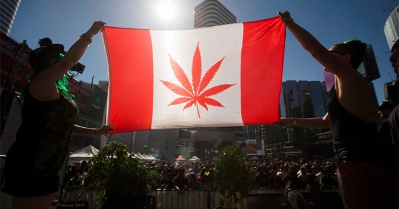 Légalisation du cannabis en 2018 au Canada
