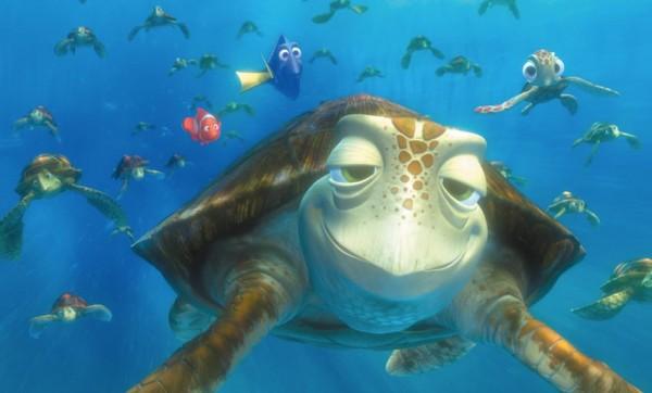 Tortue Stoner dans Nemo