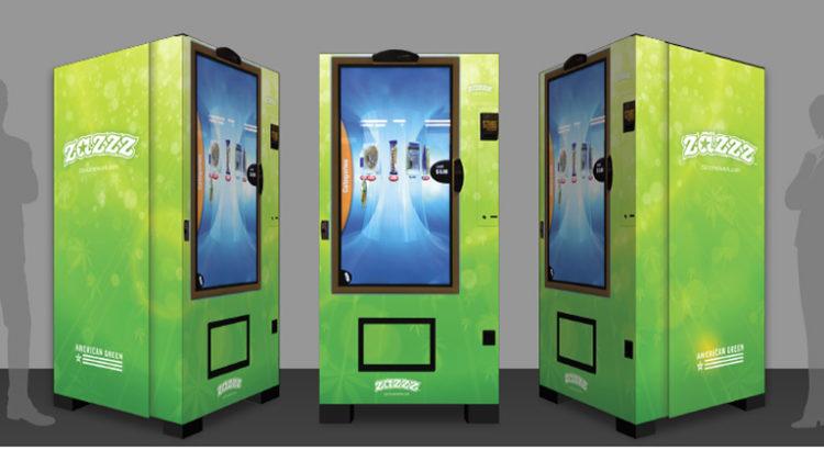 Distributeur automatique de cannabis