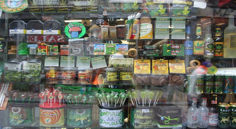 Interdiction de produits au cannabis en Californie