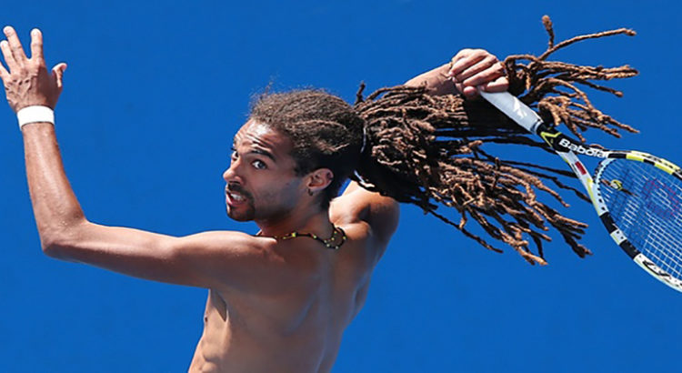 dustin brown le rasta roquette du tennis