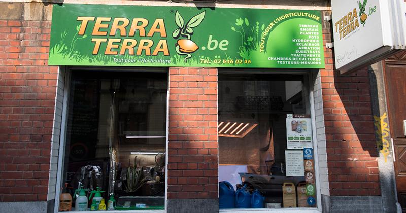 Belgique : Perquisition dans une chaîne de magasins horticoles