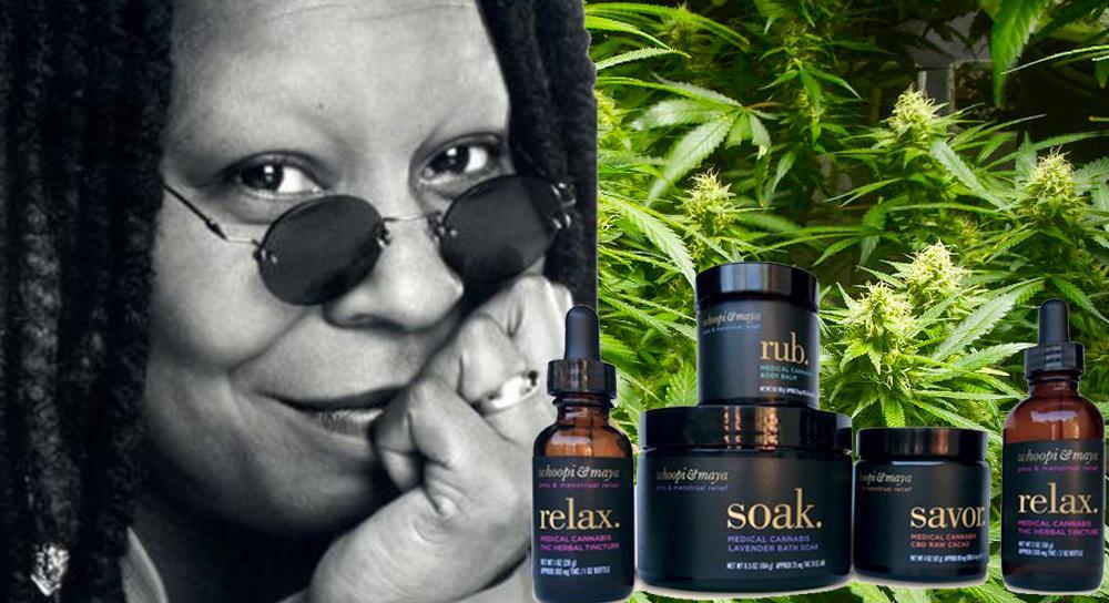 Whoopi Goldberg et le cannabis - Newsweed