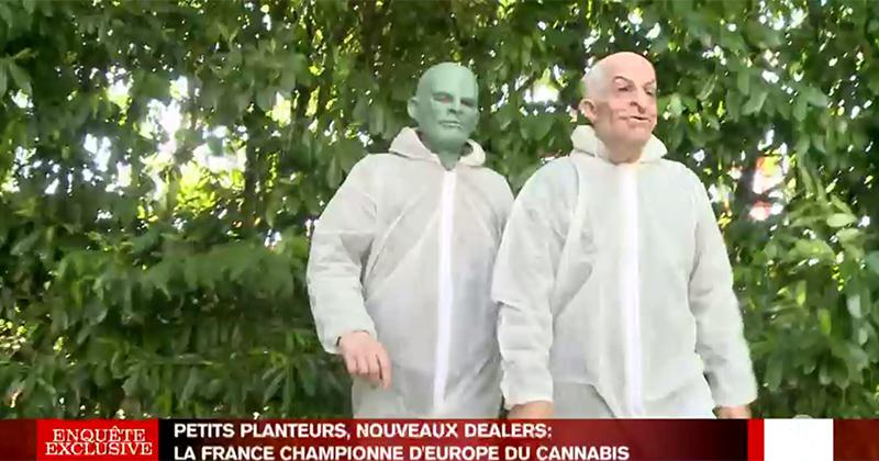 Fantomas, Louis de Funès et du cannabis