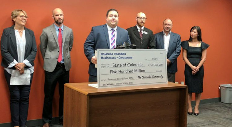 Recettes fiscales du cannabis au Colorado