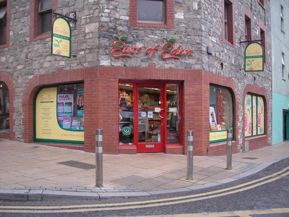 East of Eden, un magasin spécialisé dans l'alimentation diététique qui vend de l'huile de cannabidiol