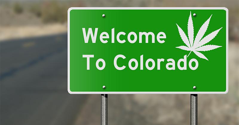 Ville de Parachute au Colorado