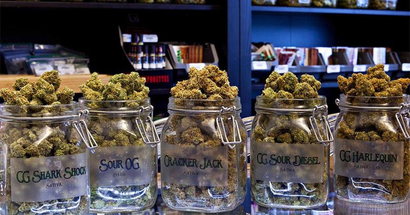 Ventes de cannabis au Nevada