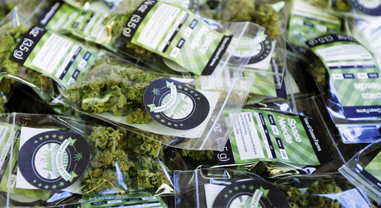 Ventes de cannabis au Nevada en août 2017