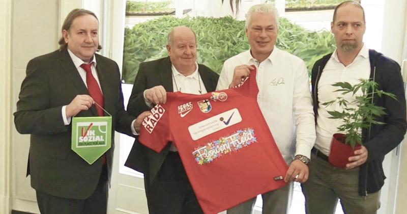 Club de foot sponsorisé par du cannabis en Autriche