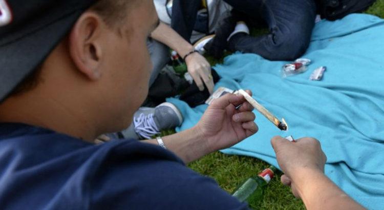 Consommation de cannabis chez les jeunes Américains