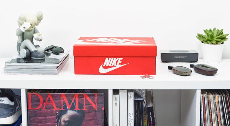 Cachette boite à chaussures