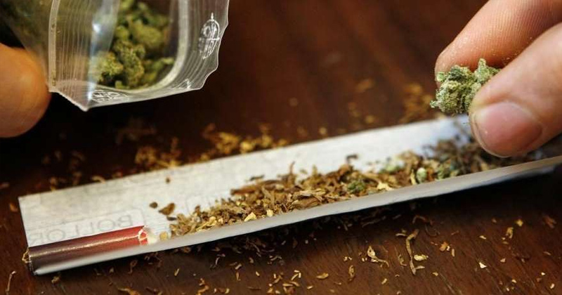 Cigarette et cannabis