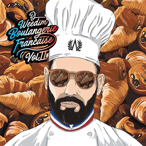 DJ Weedim et la boulangerie française