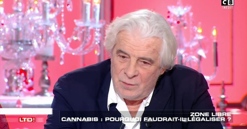 Jacques Weber est pour une légalisation du cannabis