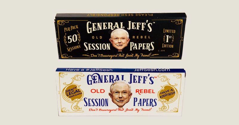 Feuilles Jeff Sessions