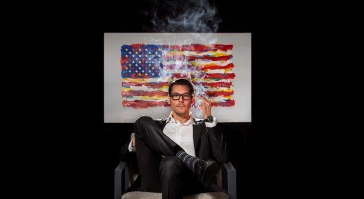 Un candidat au Congrès des USA fume un joint