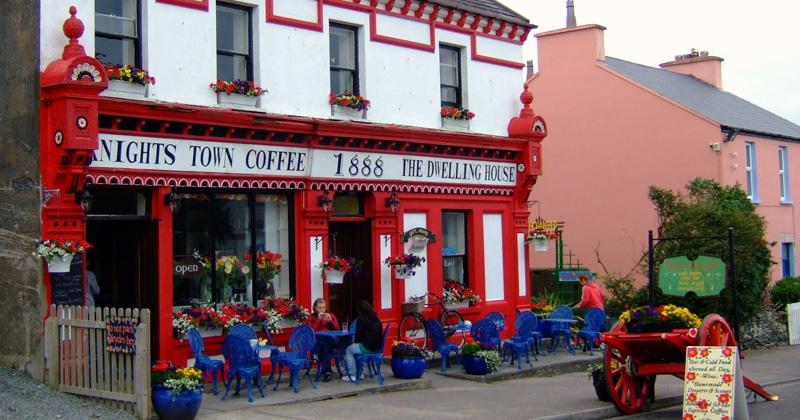 Coffeeshop en Irlande