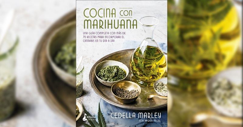 Livre de cuisine au cannabis
