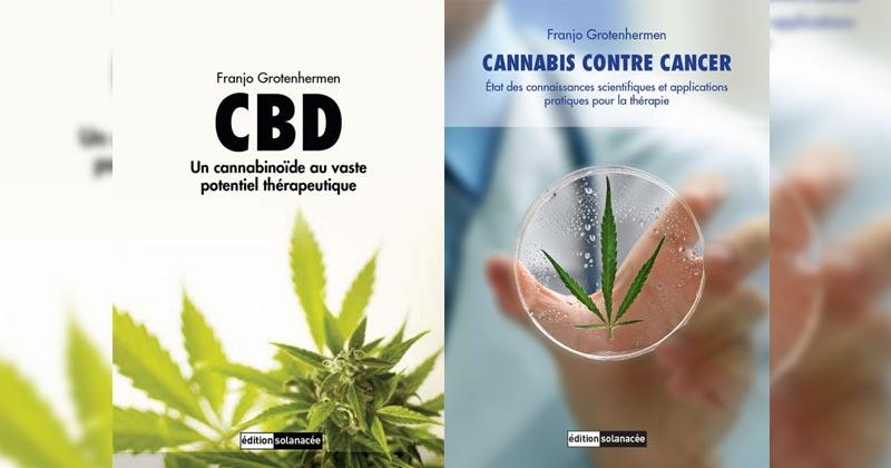 Livres sur le cannabis de Franjo Grotenhermen