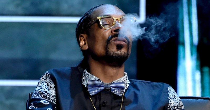 Snoop Dogg se détend