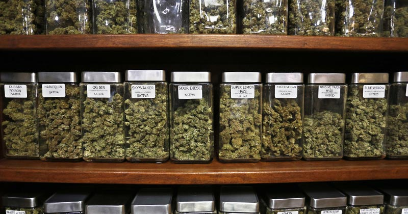 Ventes de cannabis en Californie