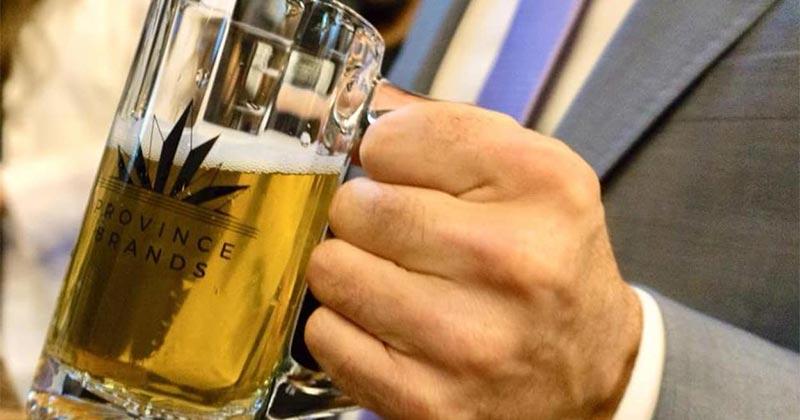 Bière au cannabis