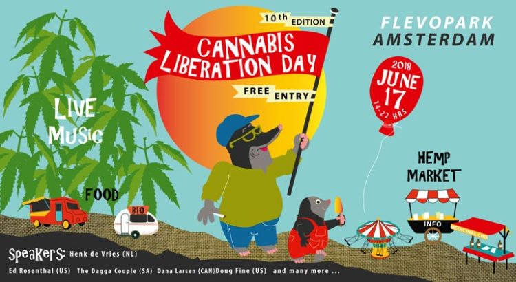 Cannabis Liberation Day à Amsterdam