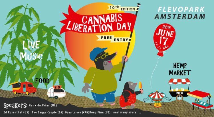 Cannabis Liberation Day à Amsterdam