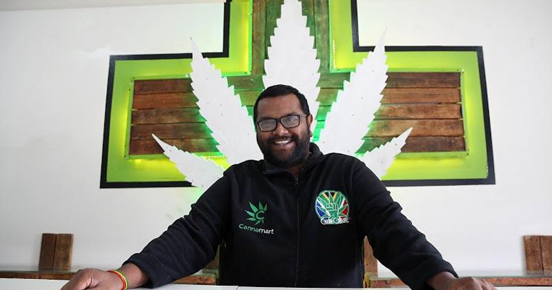 Dispensaire de cannabis en Afrique du Sud