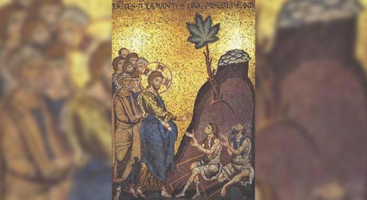 Jésus guérissant les aveugles à Jericho, Basilique de Monreale