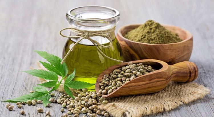 huile et graines de cannabis