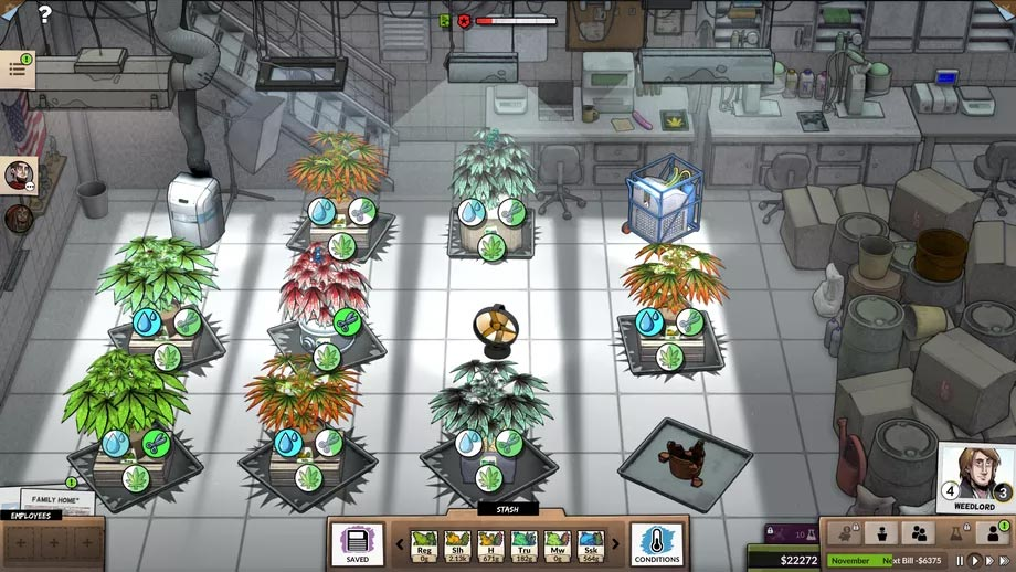Weedcraft sur Steam en 2019