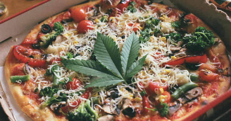 pizza cannabis