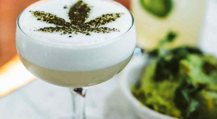 boisson au cannabis