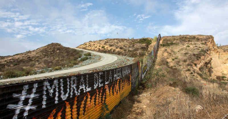 mur Etats-Unis Mexique