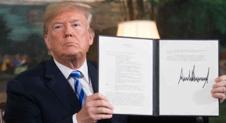 signature trump