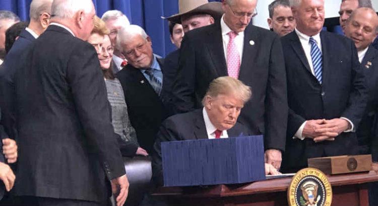 trump signe la farm bill