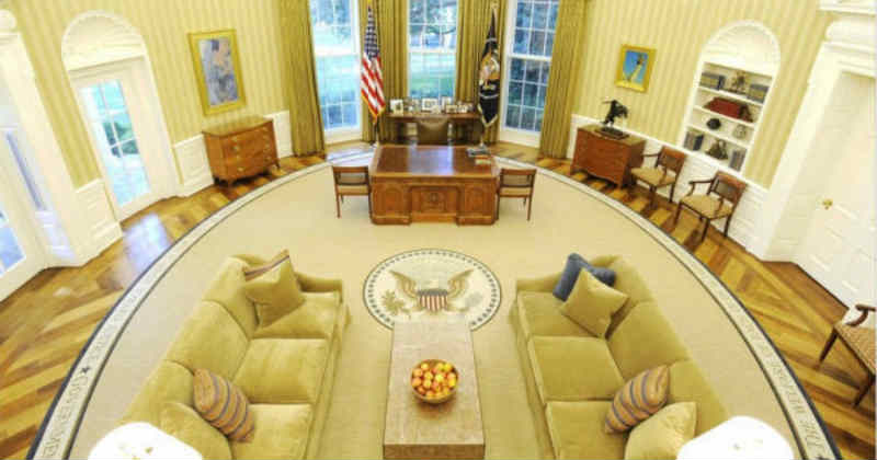 bureau oval présidence Etats-Unis