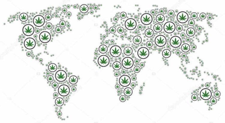 cannabis dans le monde