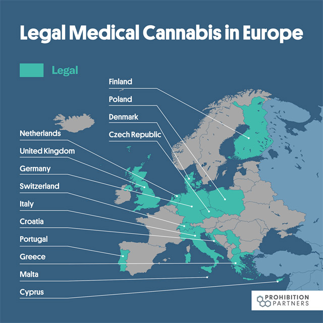 pays cannabis légal europe