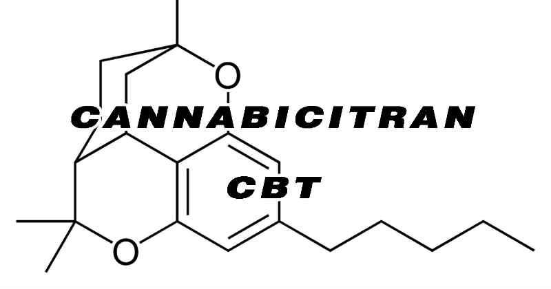 Cannabicitran cannabinoïde CBT