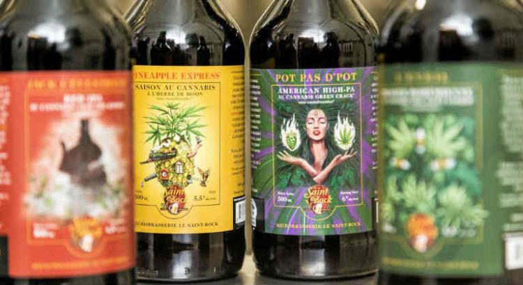 biere vin cannabis