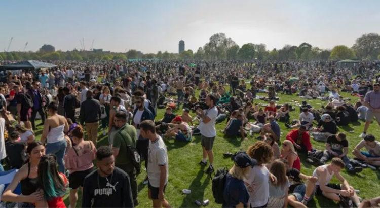 Le 420 2019 à Hyde Park