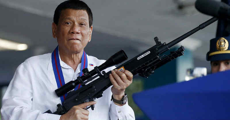 duterte phillipine guerre contre la drogue