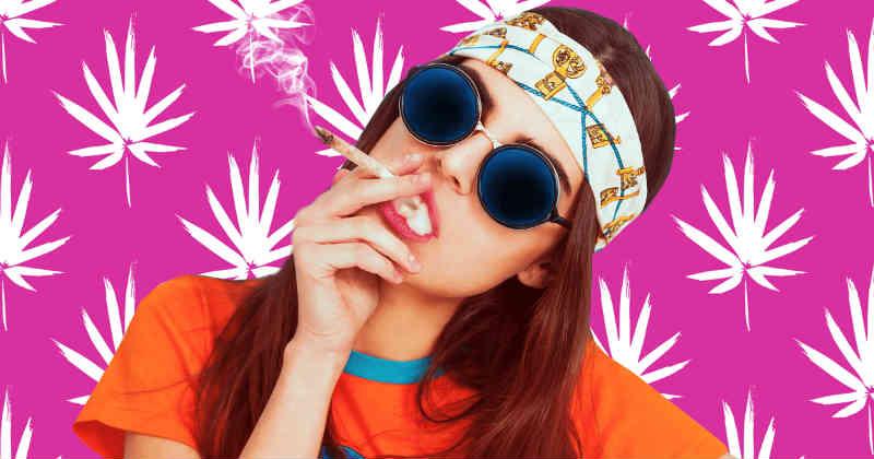 fille cannabis
