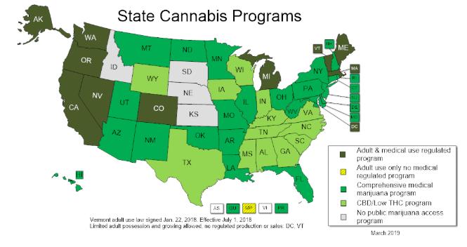 cannabis aux Etats-Unis