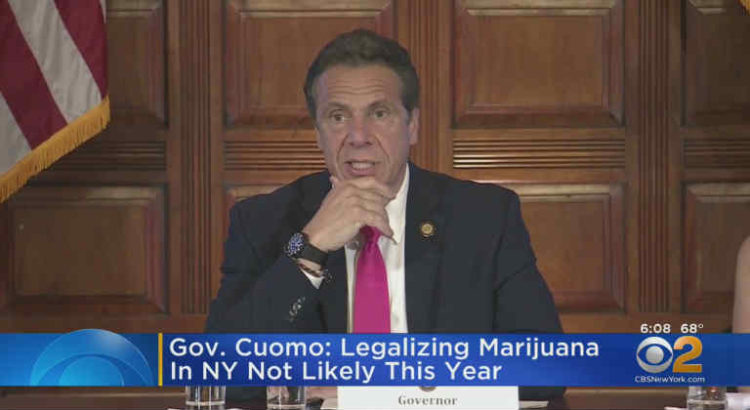 andrew cuomo légalisation cannabis New York