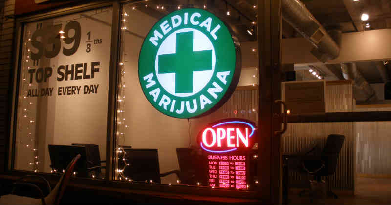 medical cannabis shop